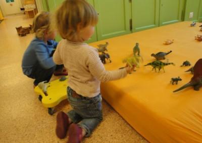 Dinosaurier Landschaft