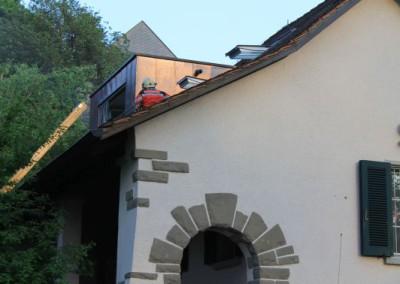 Rettung übers Dach