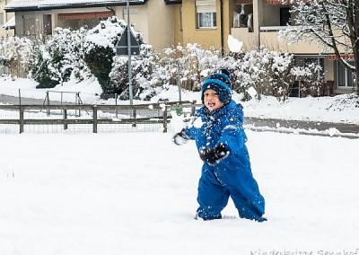"""Ich """"schneebele"""" dich ein!"""